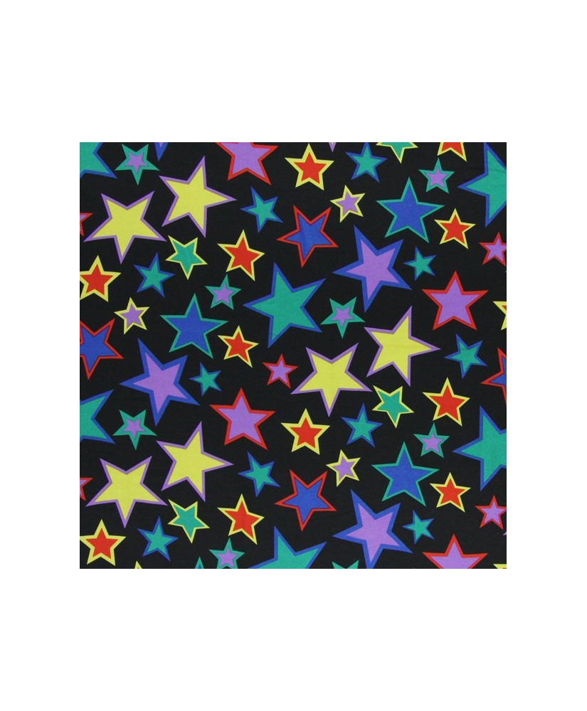 Snood noir star color