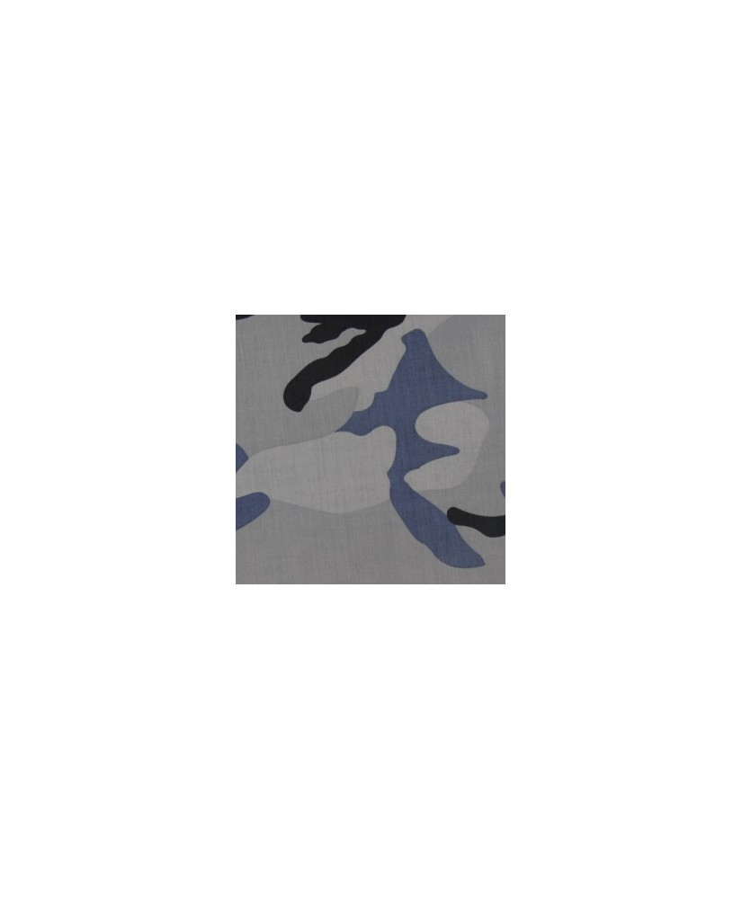 Snood Camouflage Gris