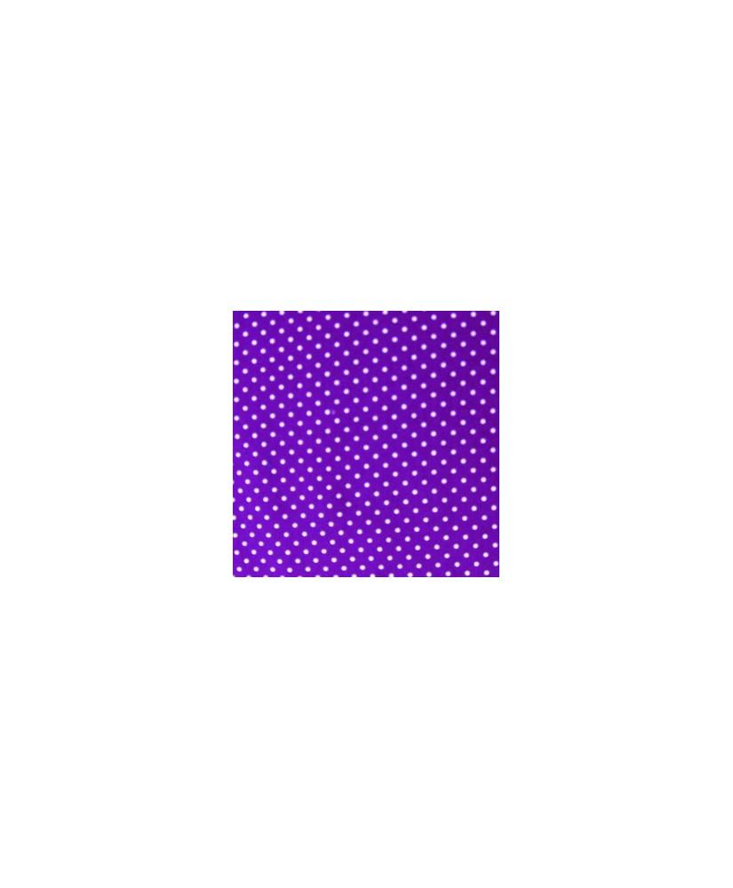 Snood pour chien Violet Petits Pois