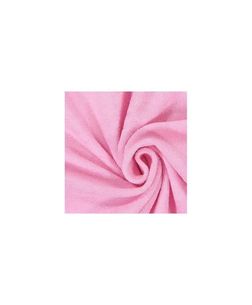 Snood Rose Pâle Éponge