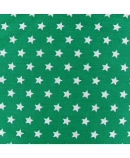 Snood menthe pluie d'étoiles