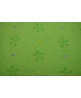 Snood Vert Fleuri