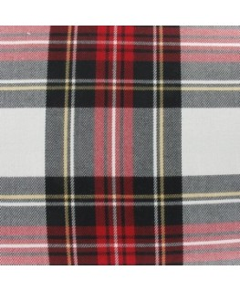 Snood Écossais Rouge et Noir