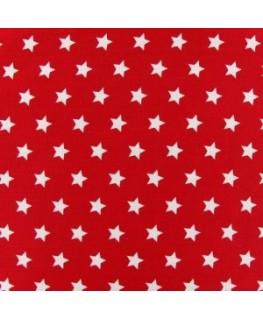 Snood Rouge Pluie d'Étoiles