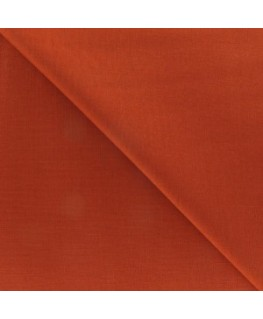 Snood Orange Brique Coton