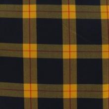 Snood Écossais Jaune et Noir