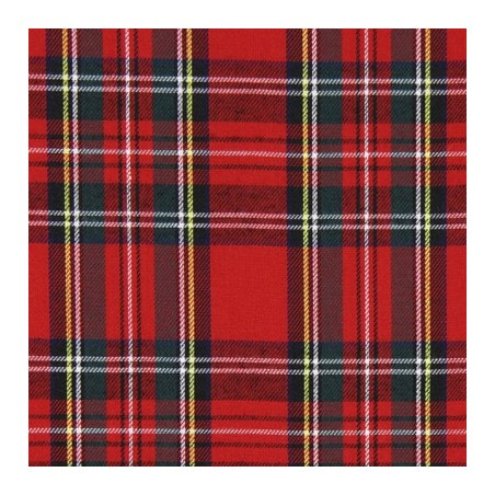 Snood Écossais Rouge Classique