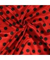 Snood Rouge Coccinelle