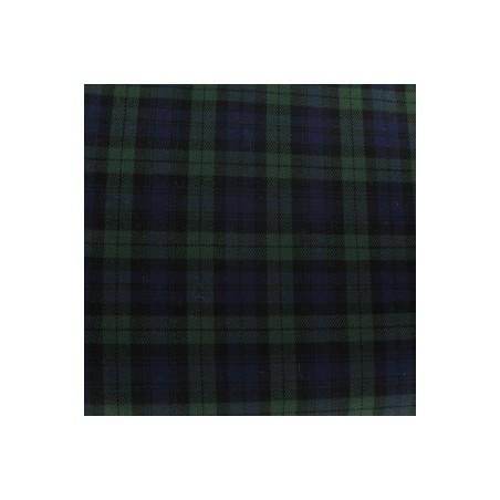 Snood Écossais Vert et Bleu