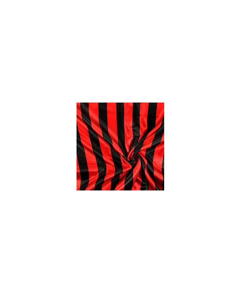 Snood Noir et Rouge