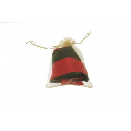 Snood Noir et Rouge (envoi)