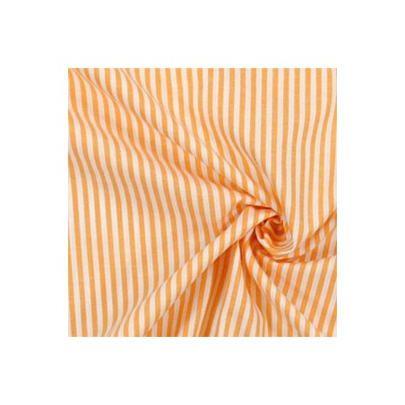 Snood Orange Rayé