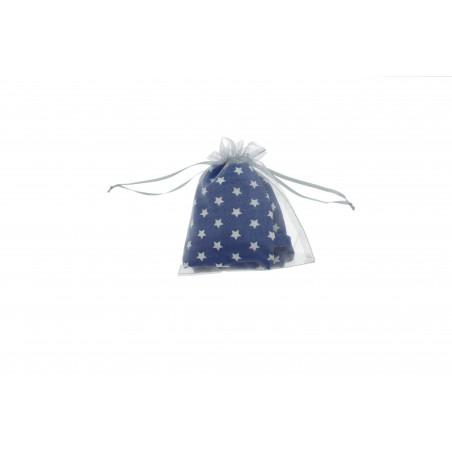 Snood Bleu Pluie d'Étoiles (envoi)