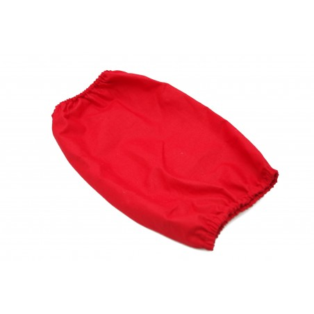 Snood Rouge Coton taille standard (snood cocker)
