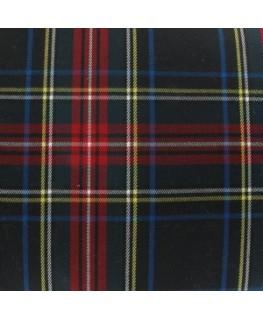 Snood Écossais Bleu Nuit