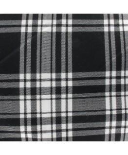 Snood Écossais Noir