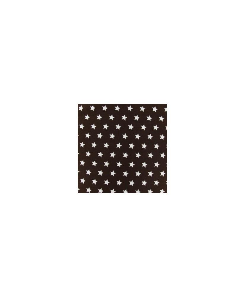 Snood Chocolat Pluie d'Étoiles