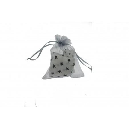Snood Blanc Pluie d'Étoiles (envoi)