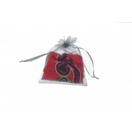 Snood Rouge Danse des Fleurs (envoi)