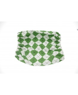 Snood Vert Time taille puppy (snood cocker)