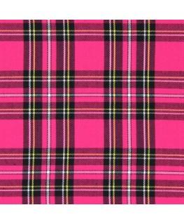 Snood Écossais Rose