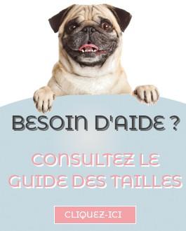Guide des tailles snood pour chien